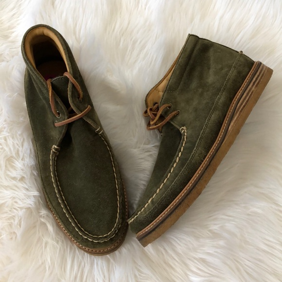 Sperry Gold Cup Crepe Chukka Olive